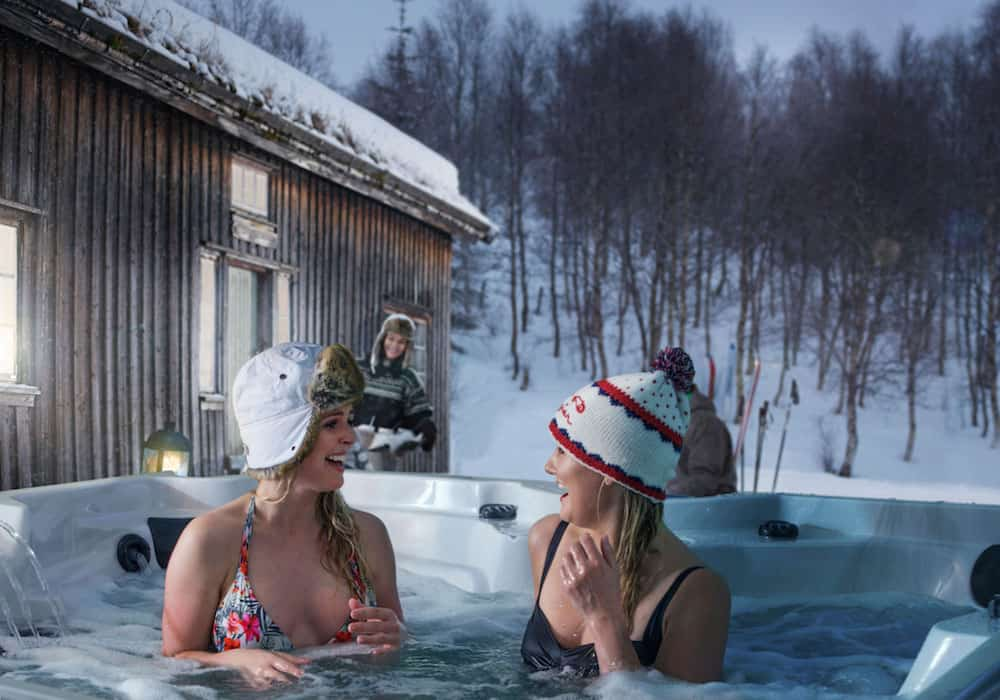 Nightlife in and out with Arctic Spas