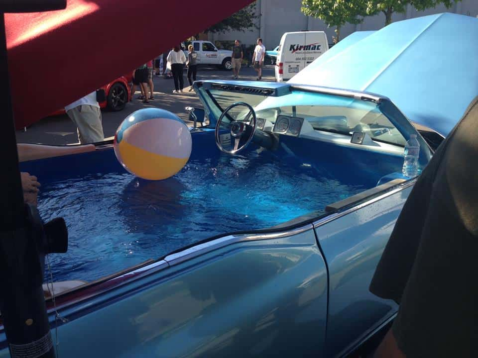 Carpool DeVille a mobile hot tub